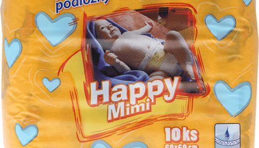 Happy Mimi prebaľovacie podložky