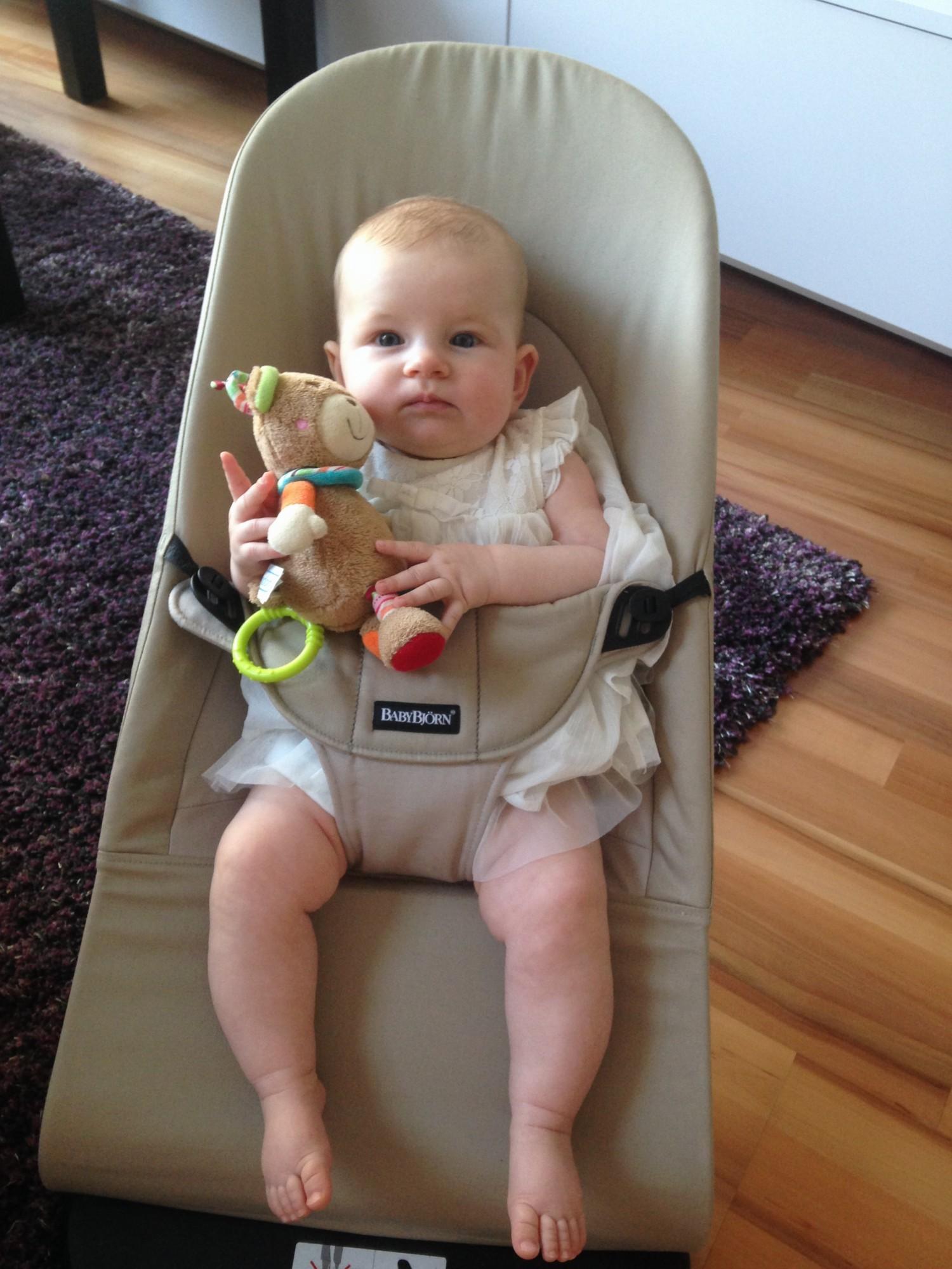 Babybjorn Balance Soft použitie