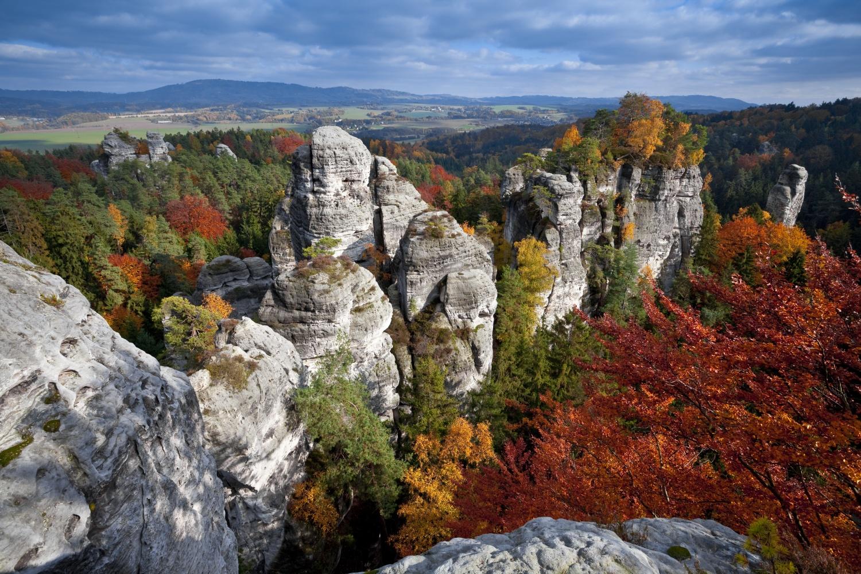 Prachovské skaly v Českom raji