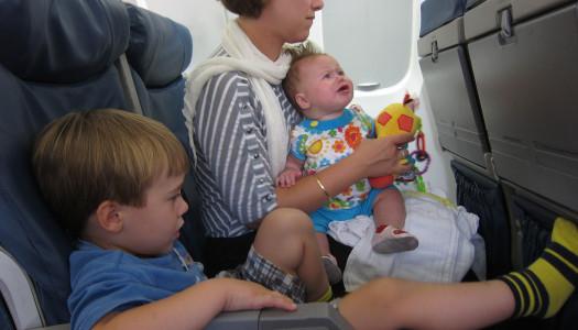 Rady pri cestovaní lietadlom s bábätkom