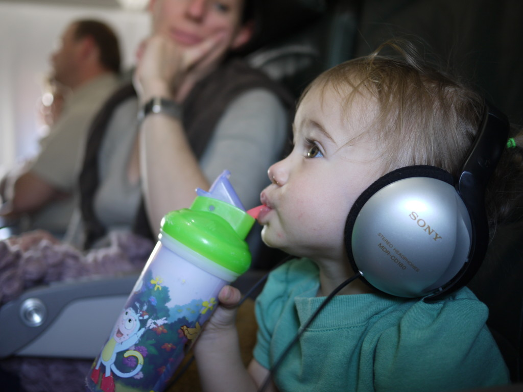 Jedlo pre deti v lietadle
