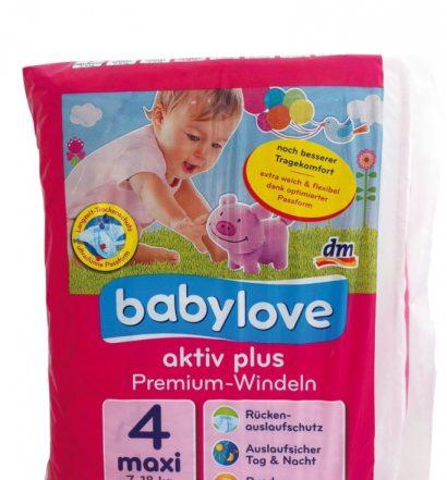 Babylove Premium Aktiv Plus Plienky z dm recenzia