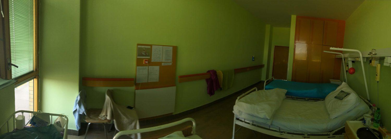 Štandardná izba oddelenia šestonedelia na Antolskej.