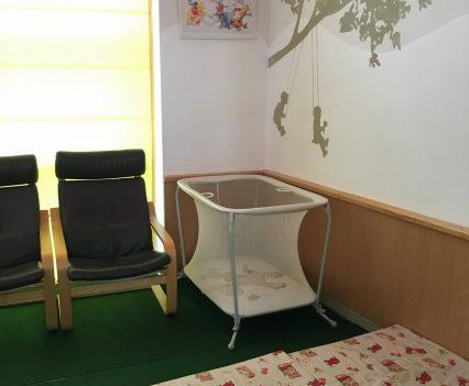 Odpočívareň pre bábätká a miestnosť, kde v súkromí dieťa nadojčíte. Vďaka, že nanás myslíte!