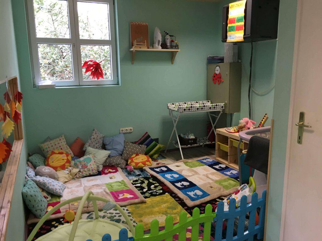 Samostatná miestnosť pre bábätká v hoteli Oxigén