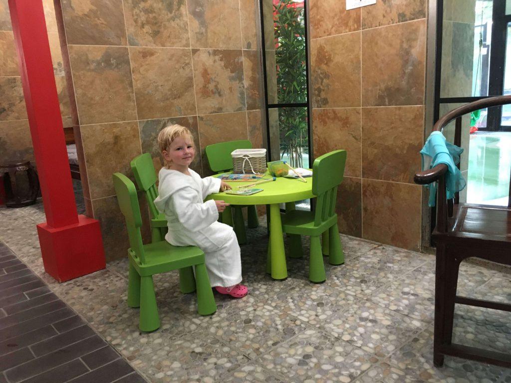 I vo wellness sa myslí na deti. Hotel Oxigén je ten naj baby friendly hotel ktorý sme doposiaľ navštívili.