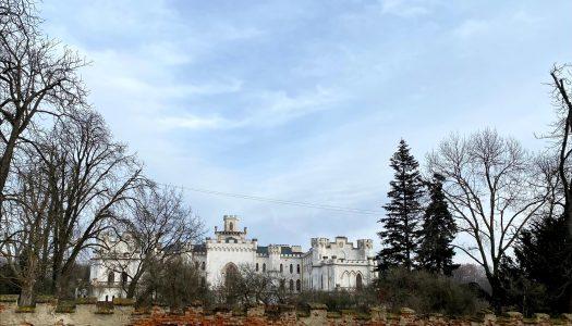 Zimný výlet v extraviláne Bratislavy: kaštieľ a park v Rusovciach
